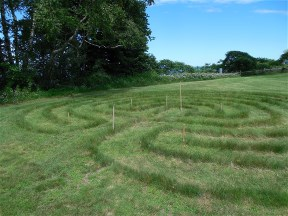 Labyrinth at Siena Retreat Center